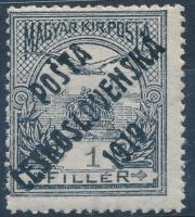 Posta Ceskoslovenska 1919 Turul 1f garancia nélkül (**700.000)