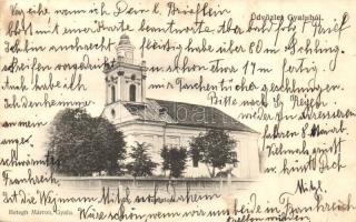 Gyalu, Gilau; Református templom, kiadja Betegh Márton / Calvinist church (kis szakadás / small tear)