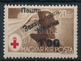 Ungvár II. 1945 Vöröskereszt 100/20f garancia nélkül (**15.000)