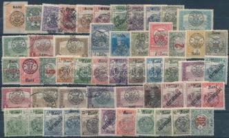 Nagyvárad és Kolozsvár 1919 53 db megszállási bélyeg, garancia nélkül