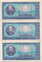 Románia 1966. 100L T:II- Romania 1966. 100 Lei C:VF Krause 97