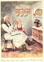 Nagy lesz újra, mint régen volt, Magyarország / Hungarian irredenta postcard, s: Köves