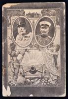 Tolnai A világháború naptára az 1916-os évre. Illusztrált papírkötésben, megviselt állapotban, hiányos, sérült borítóval, sérült lapokkal, sérült kötéssel, rengeteg képpel, 64p.