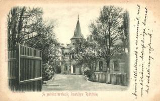 Rátót, Szél Kálmán kastélya, kiadja Geltch Vilmos (EK)