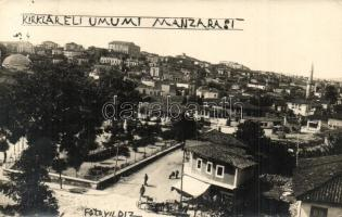 1931 Kirklareli, general view, photo