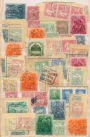 34 db Turul bélyeg postaügynökségi bélyegzésekkel