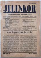 1940 Jelenkor, II. évf. 14 szám, Szerk.: Katona Jenő, papírkötésben.