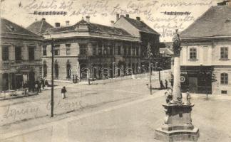 Keszthely, Andrássy tér, kiadja Nádai Ignác (EK)