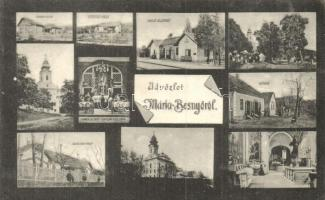 Máriabesnyő, Vasútállomás, villák, templombelső (EK)