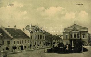 Sopron, Színház tér, kiadja Kummert L. utóda (EK)