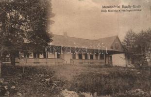 Maroshévíz, Toplita; Bánffy fürdő, régi szálloda / spa, hotel (EK)