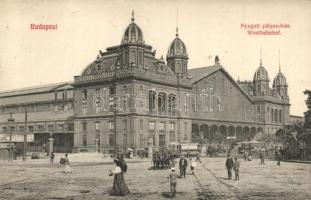 Budapest VI. Nyugati pályaudvar, villamosok