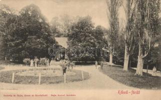 Kéked-fürdő, kúria, kiadja Eschwig és Hajts (kopott sarkak / worn corners)