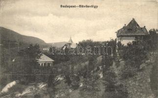 Budapest II. Hűvösvölgy, Villák (EK)