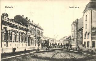 Újvidék, Novi Sad; Petőfi utca, villamos / street, tram (EK)