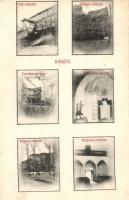 Siklós, Vár, bástya, Csonka torony, kápolna belső