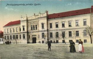 Gyula, Pénzügyigazgatóság palotája