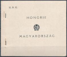1949 UPU normál bélyegfüzet (35.000)