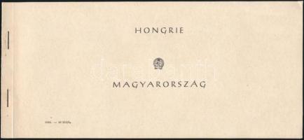 1954 Repülőnap bélyegfüzet (35.000)