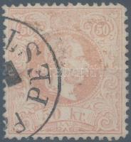 1867 50kr PEST / PÉNZUTALVÁNY hibátlan, luxus darab (150.000)