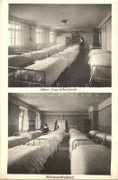 Krems an der Donau; Institut B. M. V. der Englischen Fräulein, Herz-Jesu-Schlafsaal, Marienschlafsaal / dormitory, interior (EK)