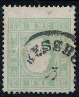 1858 3kr zöld (P)RESSBU(RG)