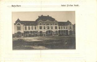 Nagybánya, Baia Mare; Stefan Voda szálloda / hotel, Aladar Frankovits photo glued on paper (fa)
