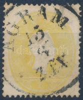 1861 2kr AGRAM (regiszterhajtás)