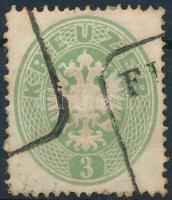 1863 3kr FI(UME)