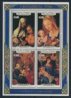 Karácsony, Dürer festmények blokk Christmas, Dürer painting block