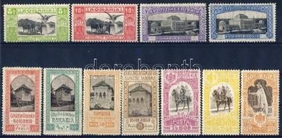 1906 Jubileumi kiállítás Mi 197-207