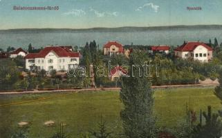 Balatonszemes-fürdő, nyaralók