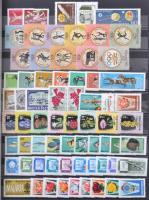 1960-1993 Gyűjtemény sorokkal, blokkokkal 16 lapos A4-es berakóban