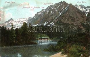 Tátra, Poprádi tó / lake (b)