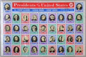 Az Egyesült Államok elnökei levélzáró ív / Presidents of the United States