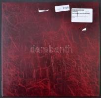 Nagy alakú gyűrűs képeslapalbum betétlapokkal összesen 251/502 férőhellyel / Big sized annular postcard album for 251/502 cards (36 cm x 35 cm)