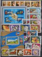 1961-1991 Gyűjtemény sorokkal, blokkokkal 16 lapos A4-es berakóban