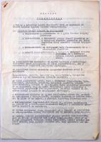 1959 Jegyzőkönyv a VKM és a katolikus egyház képviselői közt az egyháznak átadandó iskolákról, 1951-es jegyzőkönyv másolata.