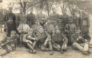 WWI K.u.K. soldiers, group photo