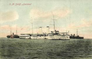Az SMS Lacroma (ex-Tiger) az Osztrák-Magyar Monarchia tengerészeti yachtja / K.u.K. Kriegsmarine