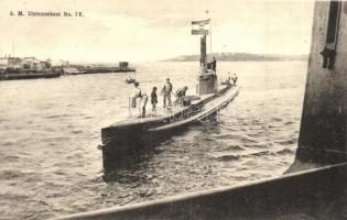 SM Unterseeboot No IV. G. Fano / K.u.K. Kriegsmarine, submarine