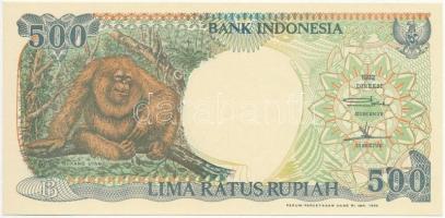 Indonézia 1998. 500R T:I Indonesia 1998. 500 Rupiah C:UNC Krause 128