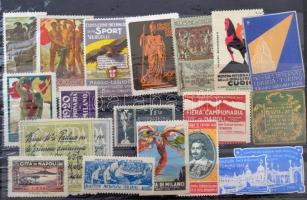 20 db olasz levélzáró / 20 Italian poster stamps