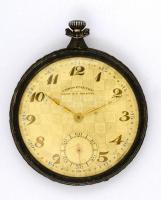 Uniom Chronométre ezüst(Ag) zsebóra, jelzett, d: 5 cm, nem jár, bruttó: 59,7 g