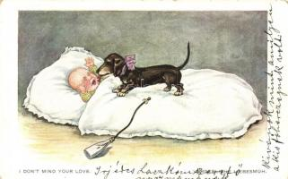 I dont mind your love / Dachshund dog, W.S.S.B. 1045.