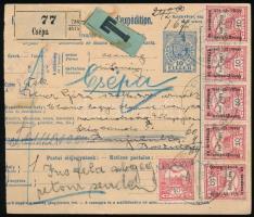 1915 Csomagszállító Boszniába, visszaküldve