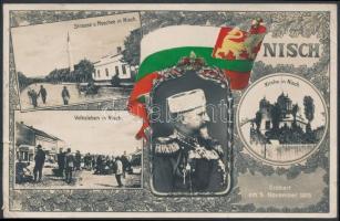 1916 Képeslap KRIEGSSPITAL STERTHAL b. PETTAU