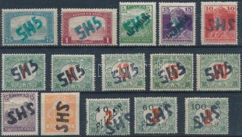 1919 Perlak 15 bélyeg garancia nélkül