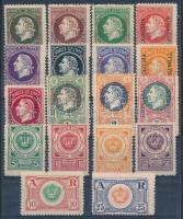 Montenegró 18 db klf kiadatlan bélyeg