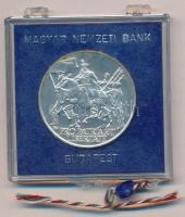 1976. 200Ft Ag II. Rákóczi Ferenc eredeti, plombált, MNB plasztiktokban T:BU kis patina Adamo EM48